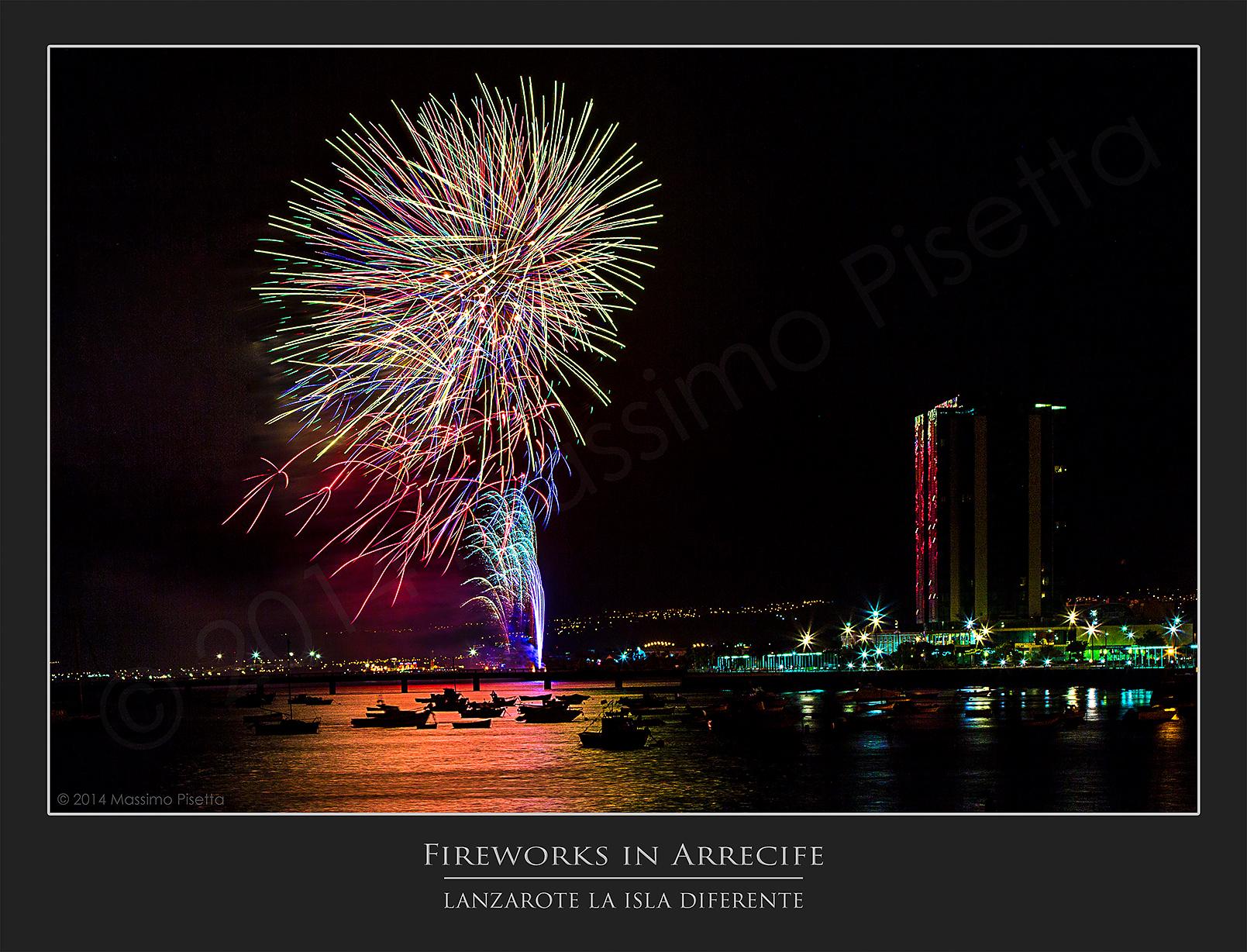 Fireworks @Arrecife
